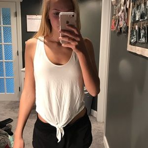 White summer tank top soft & sexy